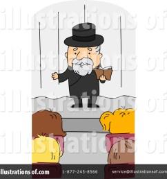 royalty free rf preacher clipart illustration by bnp design studio stock sample [ 1024 x 1024 Pixel ]