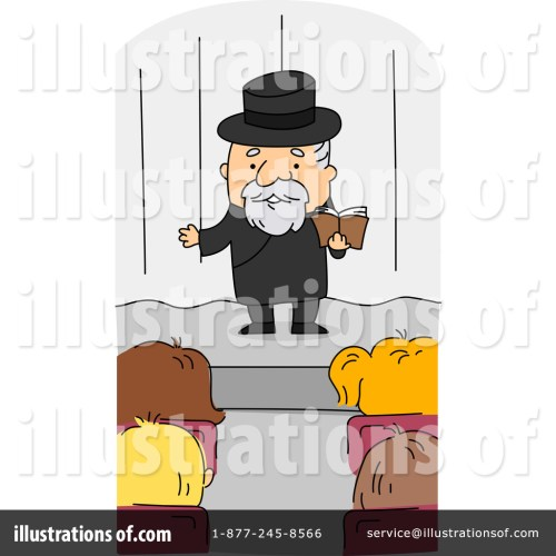small resolution of royalty free rf preacher clipart illustration by bnp design studio stock sample