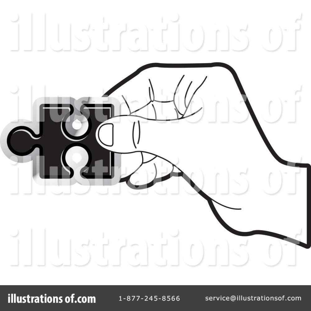 medium resolution of royalty free rf puzzle piece clipart illustration by lal perera stock sample