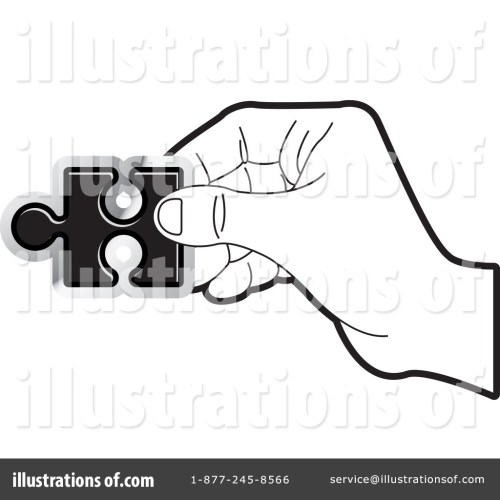 small resolution of royalty free rf puzzle piece clipart illustration by lal perera stock sample