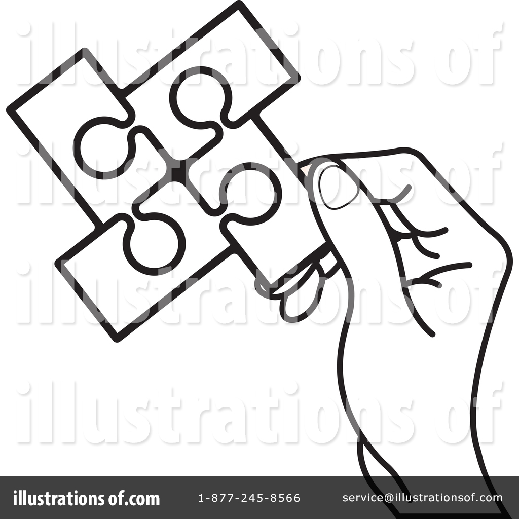 hight resolution of royalty free rf puzzle pieces clipart illustration by lal perera stock sample