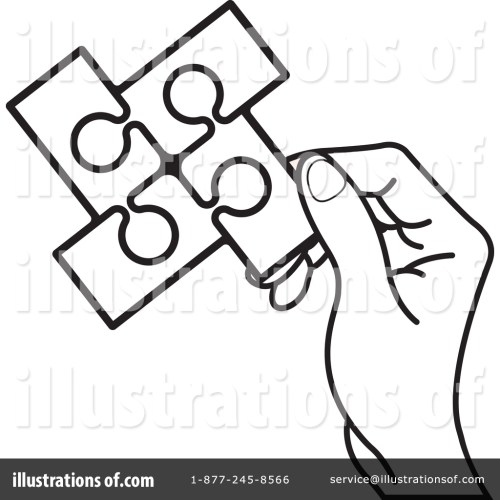 small resolution of royalty free rf puzzle pieces clipart illustration by lal perera stock sample