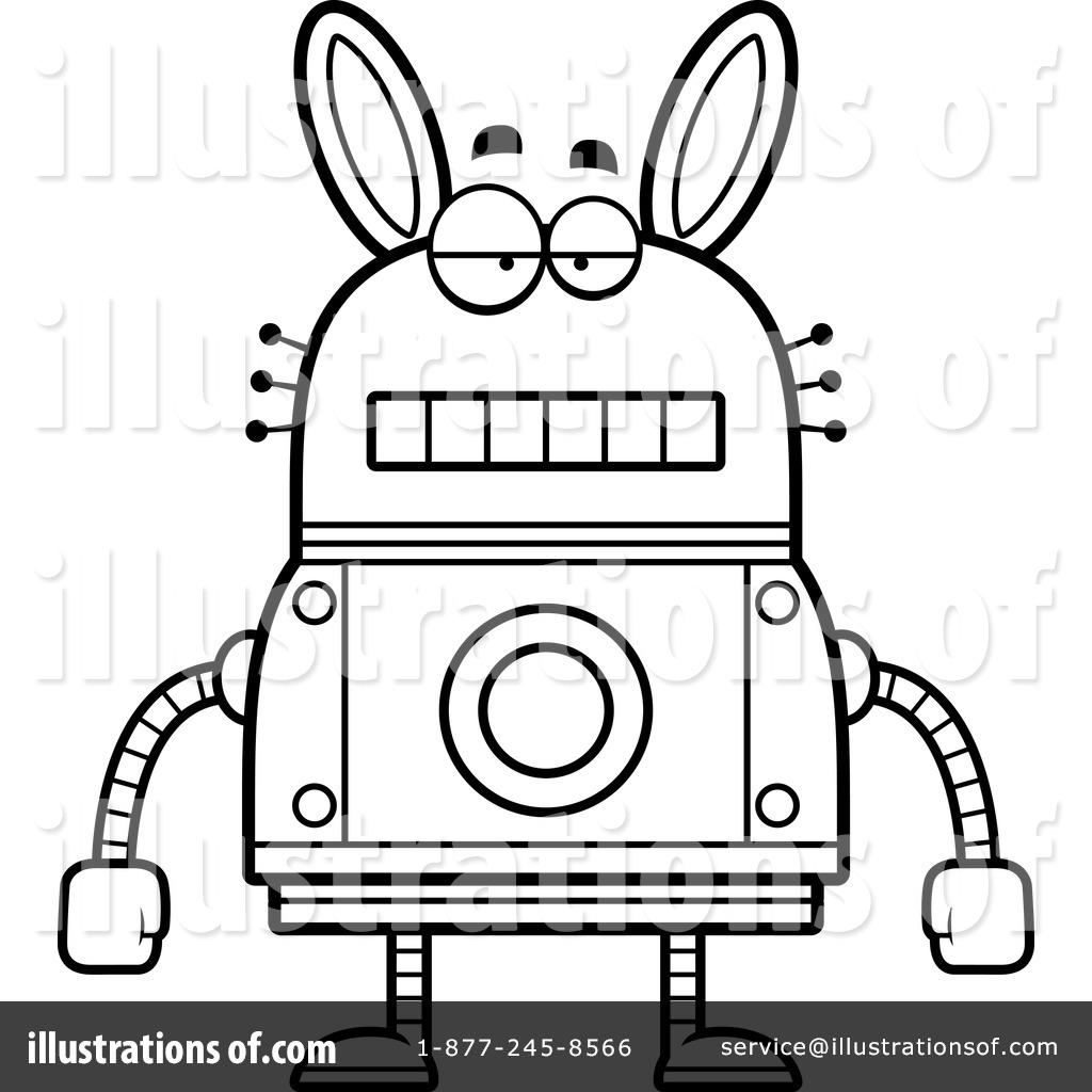 Rabbit Robot Clipart