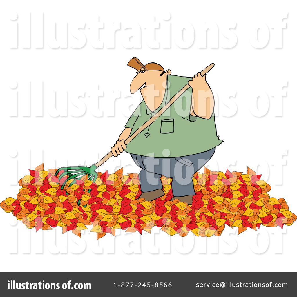 hight resolution of royalty free rf raking leaves clipart illustration 1182613 by djart