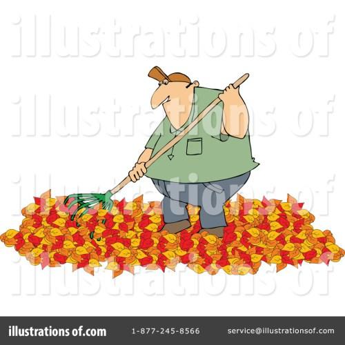 small resolution of royalty free rf raking leaves clipart illustration 1182613 by djart