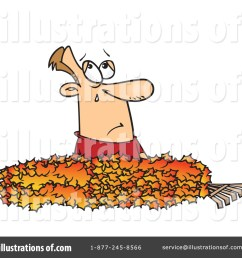 royalty free rf raking leaves clipart illustration 433462 by toonaday [ 1024 x 1024 Pixel ]