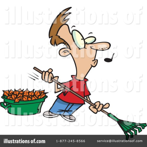small resolution of royalty free rf raking leaves clipart illustration 441601 by toonaday