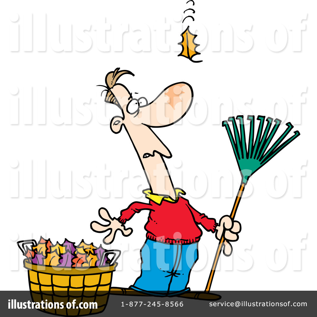 hight resolution of royalty free rf raking leaves clipart illustration 441907 by toonaday