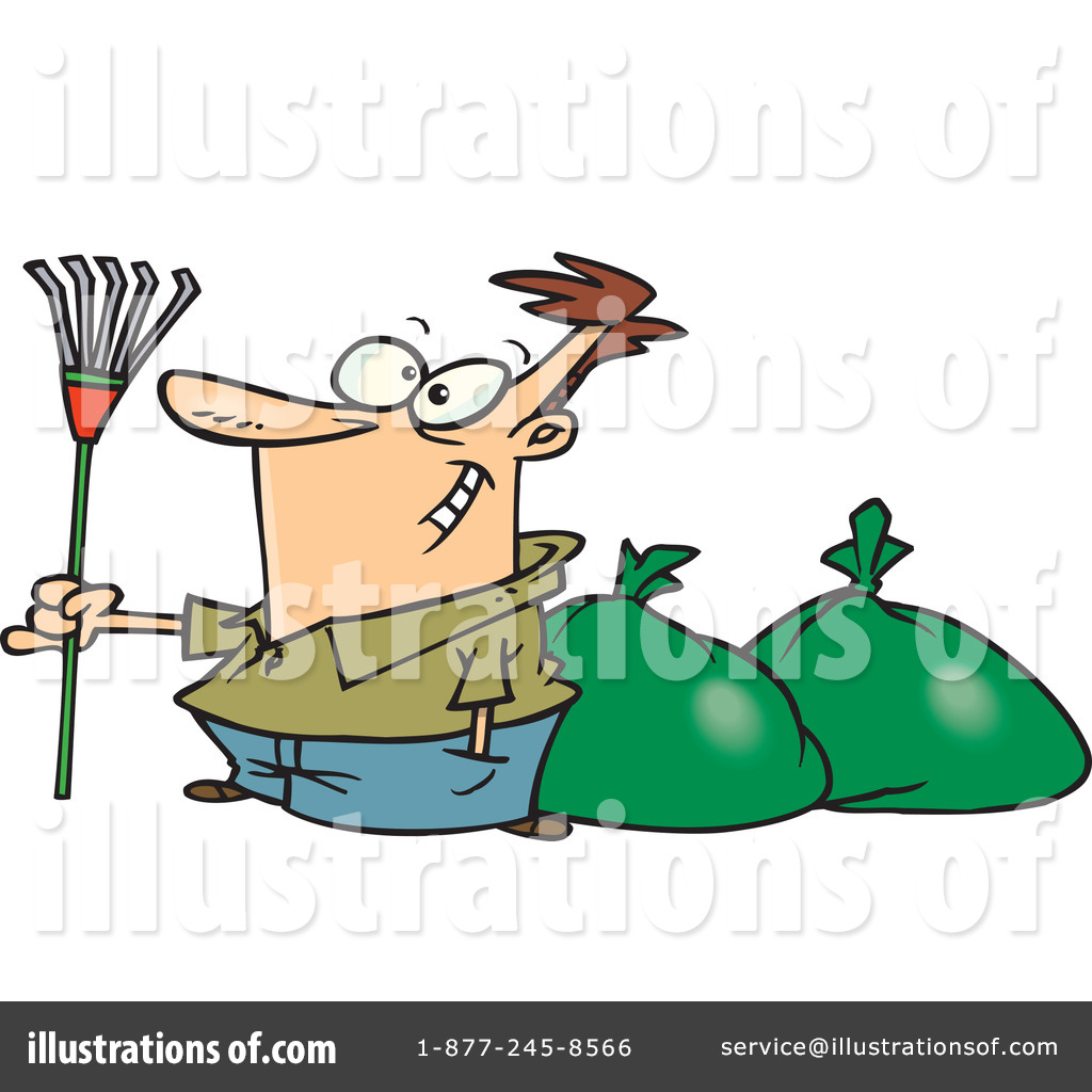 hight resolution of royalty free rf raking leaves clipart illustration 443604 by toonaday