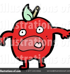 royalty free rf red apple clipart illustration 1147109 by lineartestpilot [ 1024 x 1024 Pixel ]