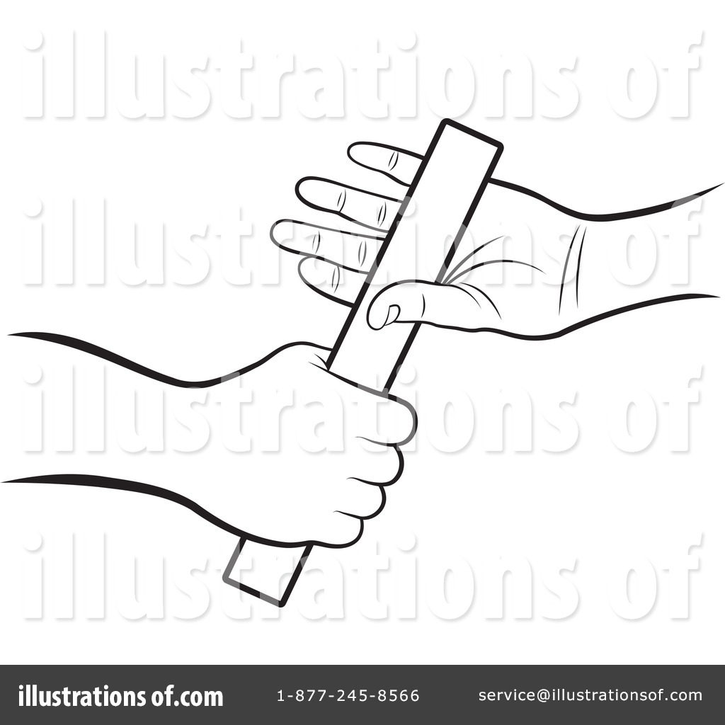 Relay Race Clipart