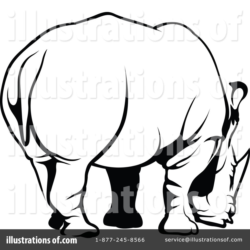 hight resolution of royalty free rf rhino clipart illustration 1388632 by dero