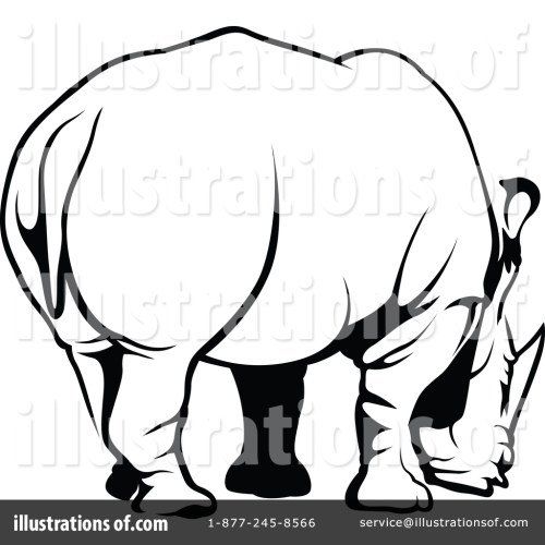 small resolution of royalty free rf rhino clipart illustration 1388632 by dero