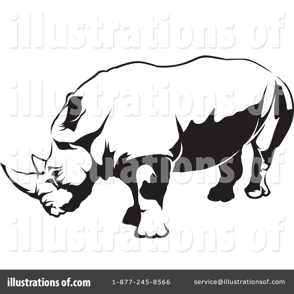 hight resolution of royalty free rf rhino clipart illustration 1388633 by dero