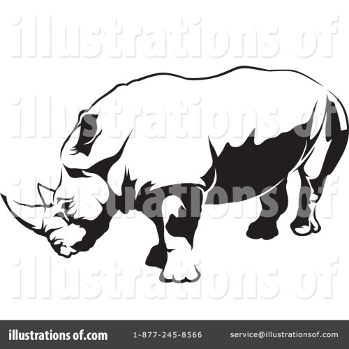 small resolution of royalty free rf rhino clipart illustration 1388633 by dero