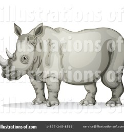 royalty free rf rhino clipart illustration 1123918 by graphics rf [ 1024 x 1024 Pixel ]