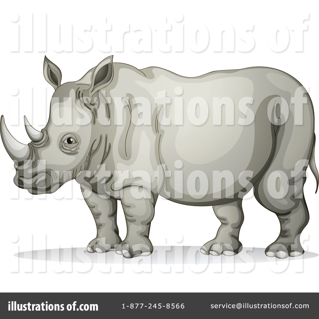 hight resolution of royalty free rf rhino clipart illustration 1123918 by graphics rf