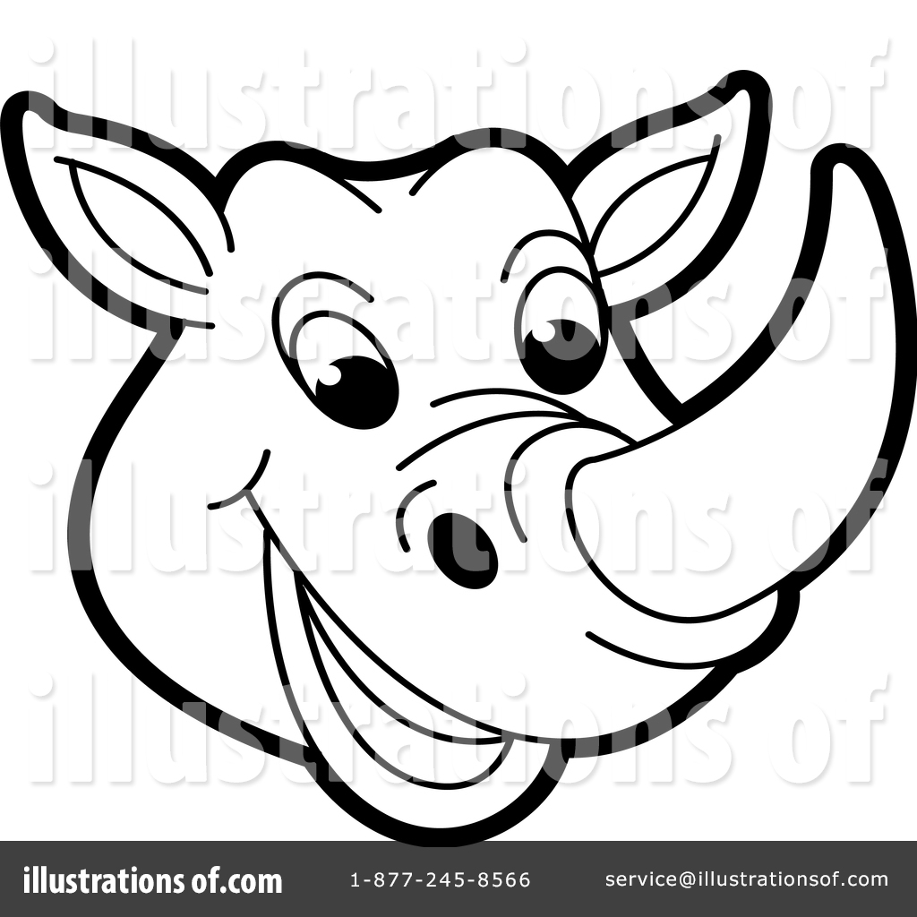 hight resolution of royalty free rf rhino clipart illustration 1472520 by lal perera