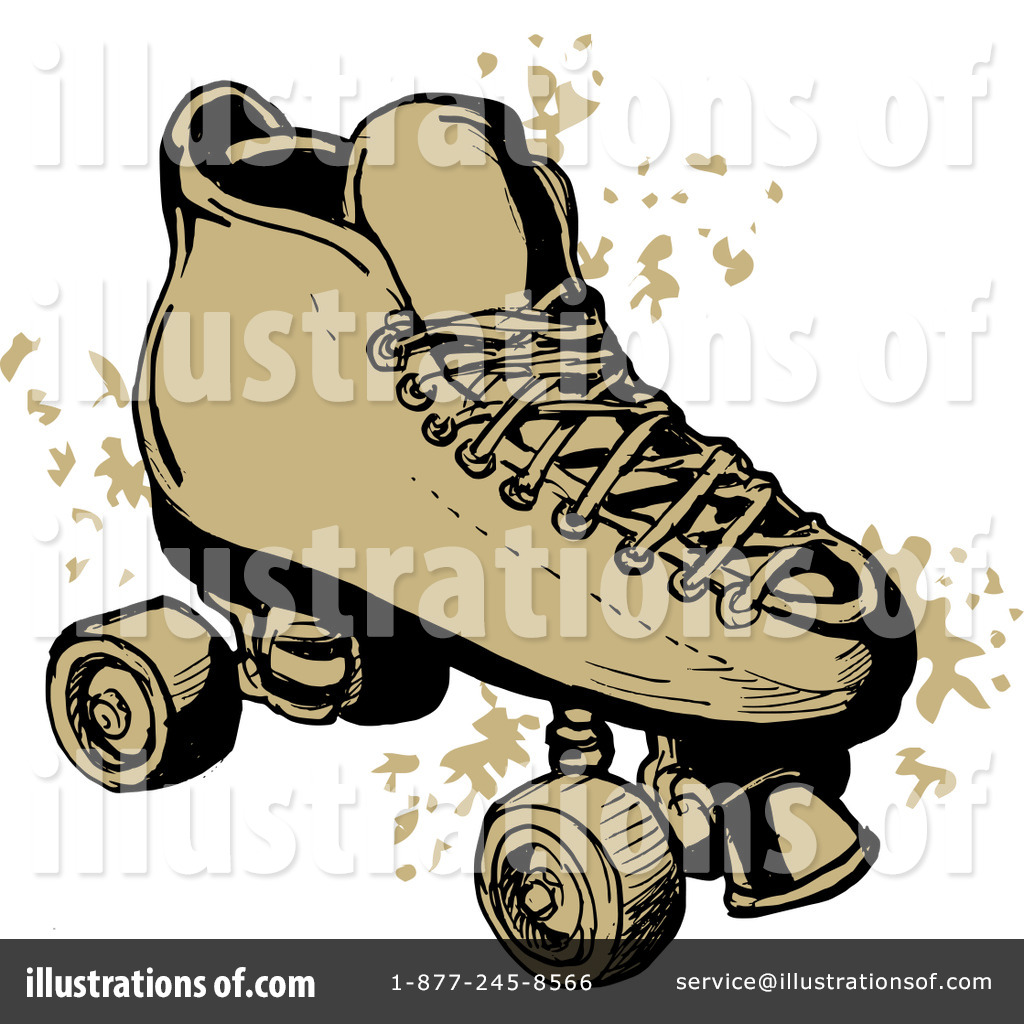hight resolution of royalty free rf roller skates clipart illustration 211842 by patrimonio