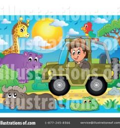 royalty free rf safari clipart illustration 1385229 by visekart [ 1024 x 1024 Pixel ]