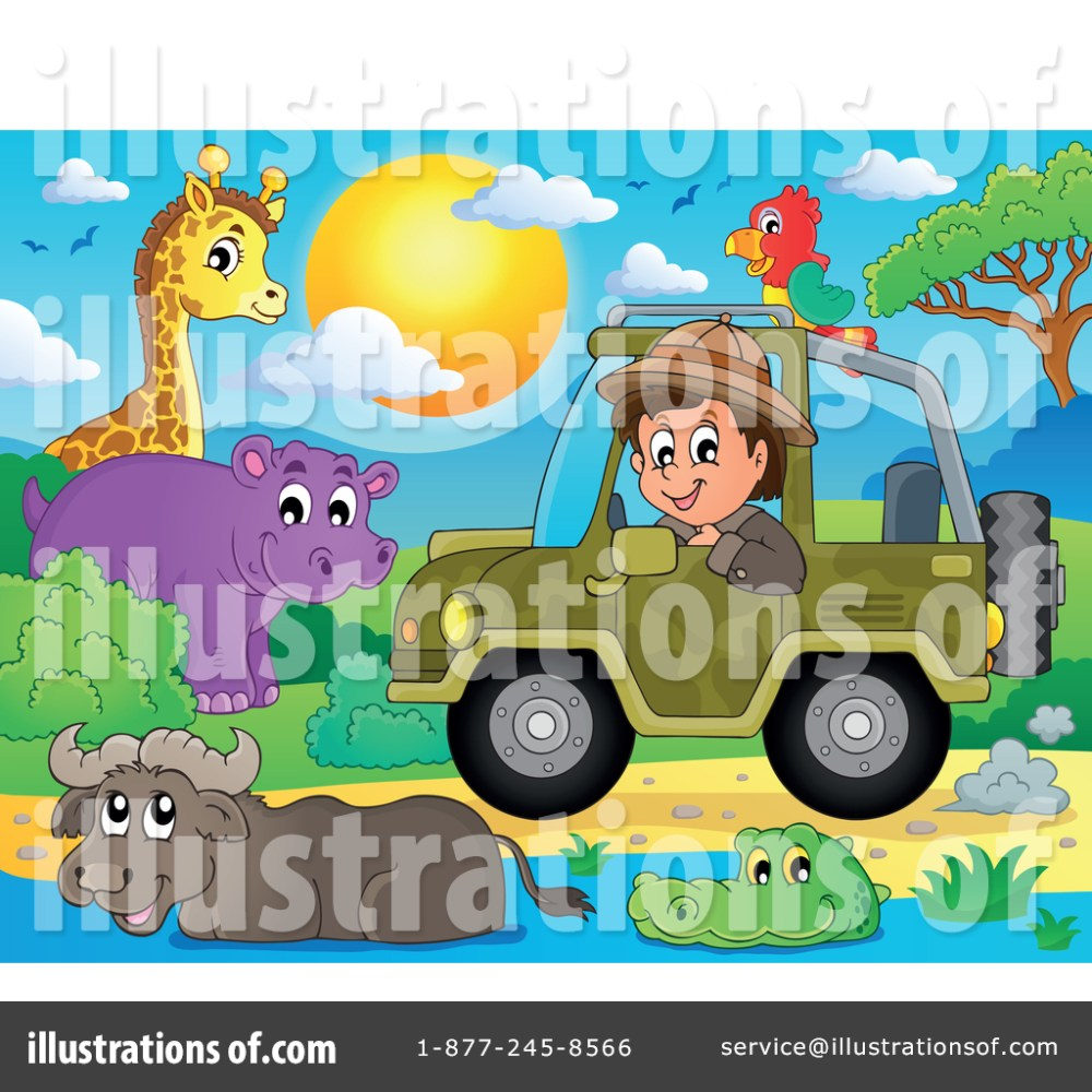 medium resolution of royalty free rf safari clipart illustration 1385229 by visekart