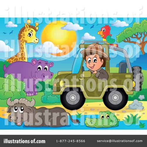 small resolution of royalty free rf safari clipart illustration 1385229 by visekart