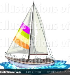 royalty free rf sailboat clipart illustration 1314277 by merlinul [ 1024 x 1024 Pixel ]
