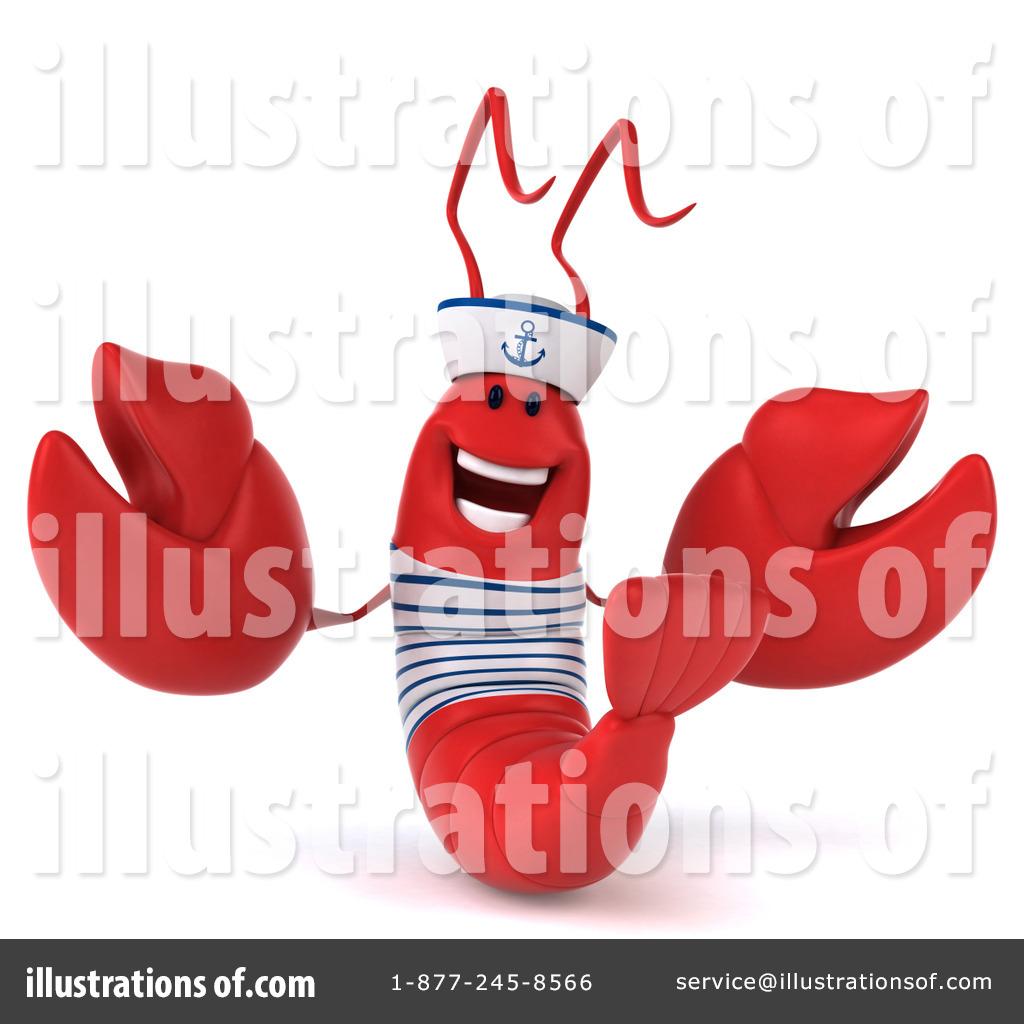 hight resolution of royalty free rf sailor lobster clipart illustration 1295900 by julos