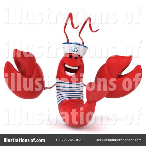 small resolution of royalty free rf sailor lobster clipart illustration 1295900 by julos