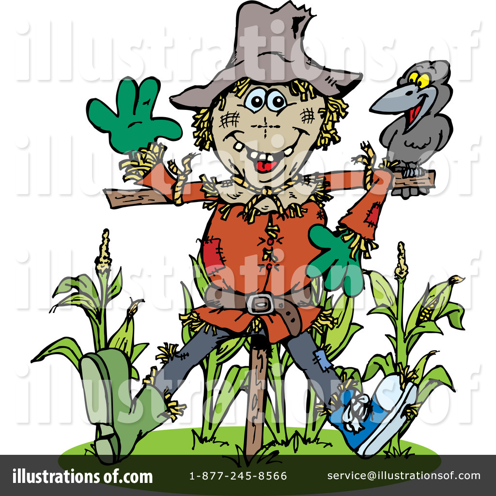 hight resolution of royalty free rf scarecrow clipart illustration by dennis holmes designs stock sample