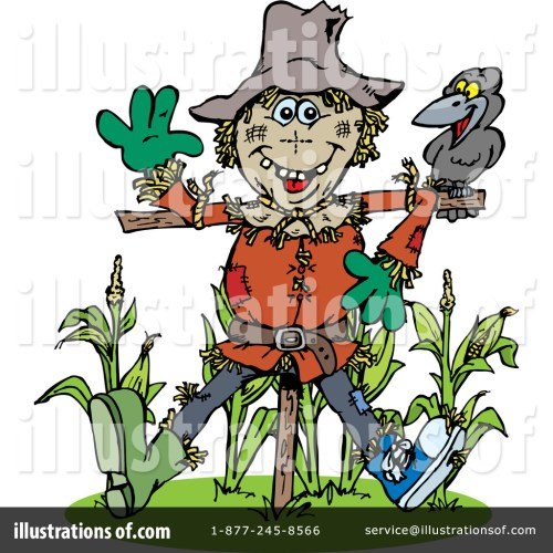 small resolution of royalty free rf scarecrow clipart illustration by dennis holmes designs stock sample