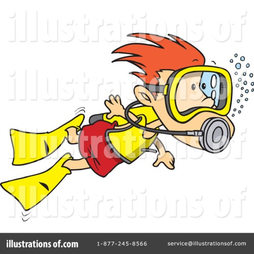 small resolution of royalty free rf scuba diver clipart illustration 1046757 by toonaday