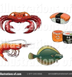 royalty free rf seafood clipart illustration by vector tradition sm stock sample [ 1024 x 1024 Pixel ]