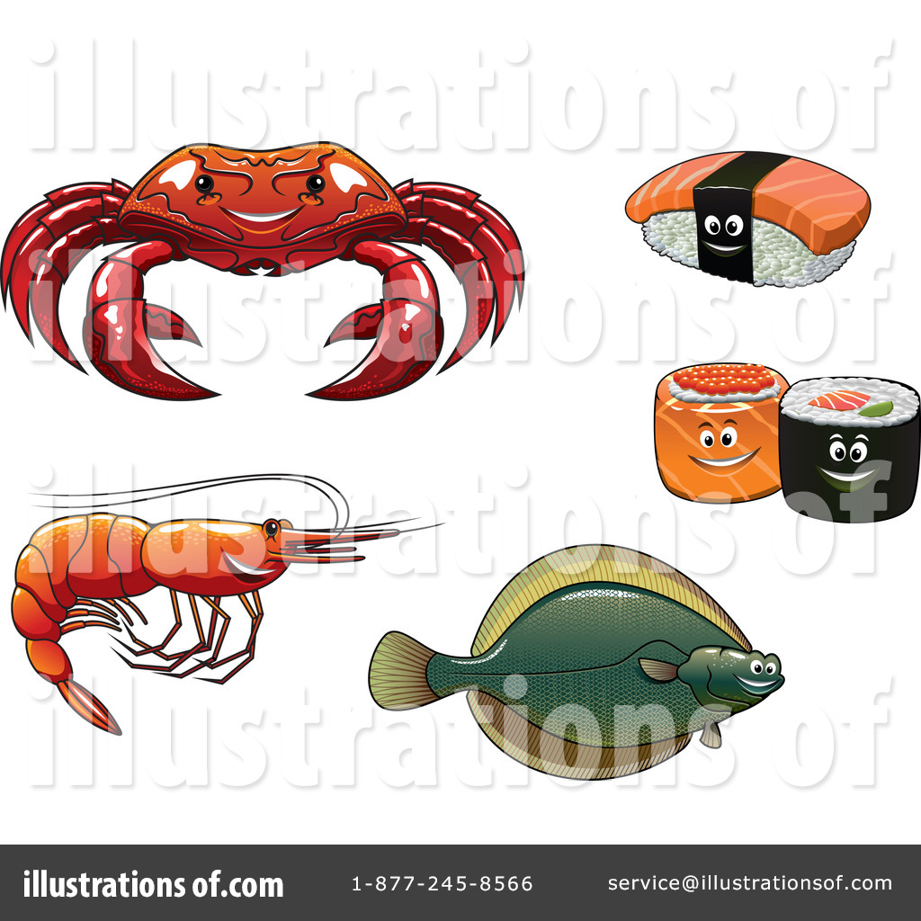hight resolution of royalty free rf seafood clipart illustration by vector tradition sm stock sample
