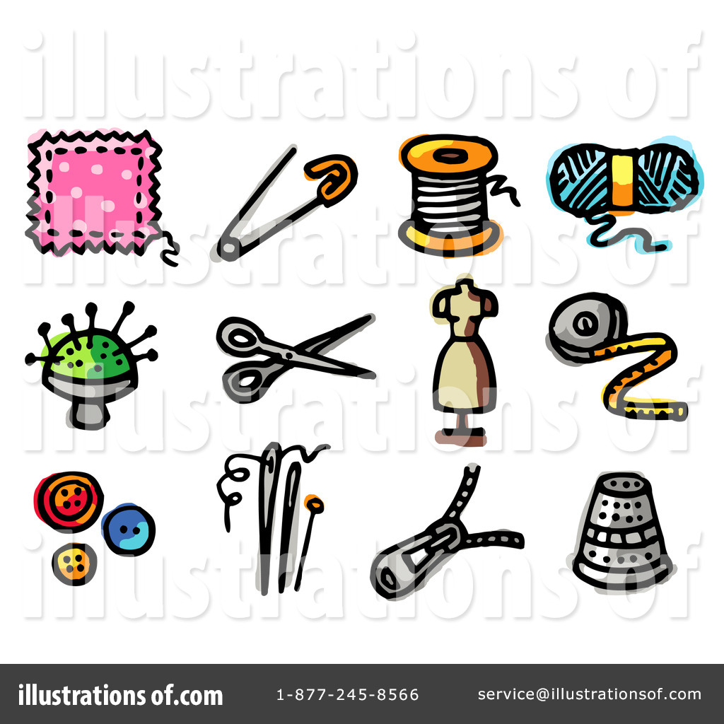 hight resolution of royalty free rf sewing clipart illustration 57976 by nl shop