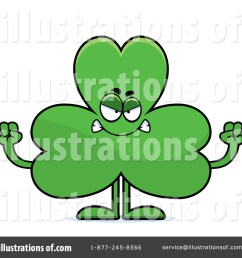 royalty free rf shamrock clipart illustration 1170079 by cory thoman [ 1024 x 1024 Pixel ]