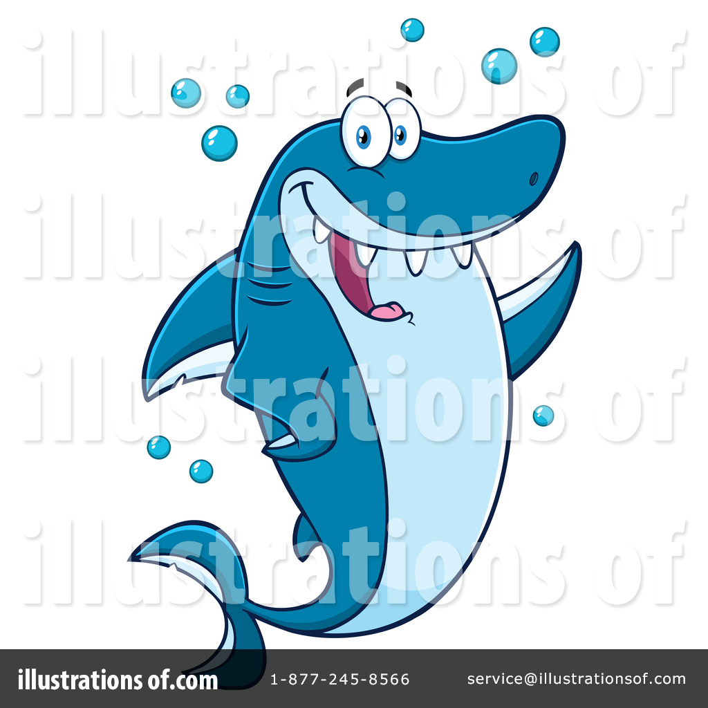 hight resolution of royalty free rf shark clipart illustration 1411233 by hit toon