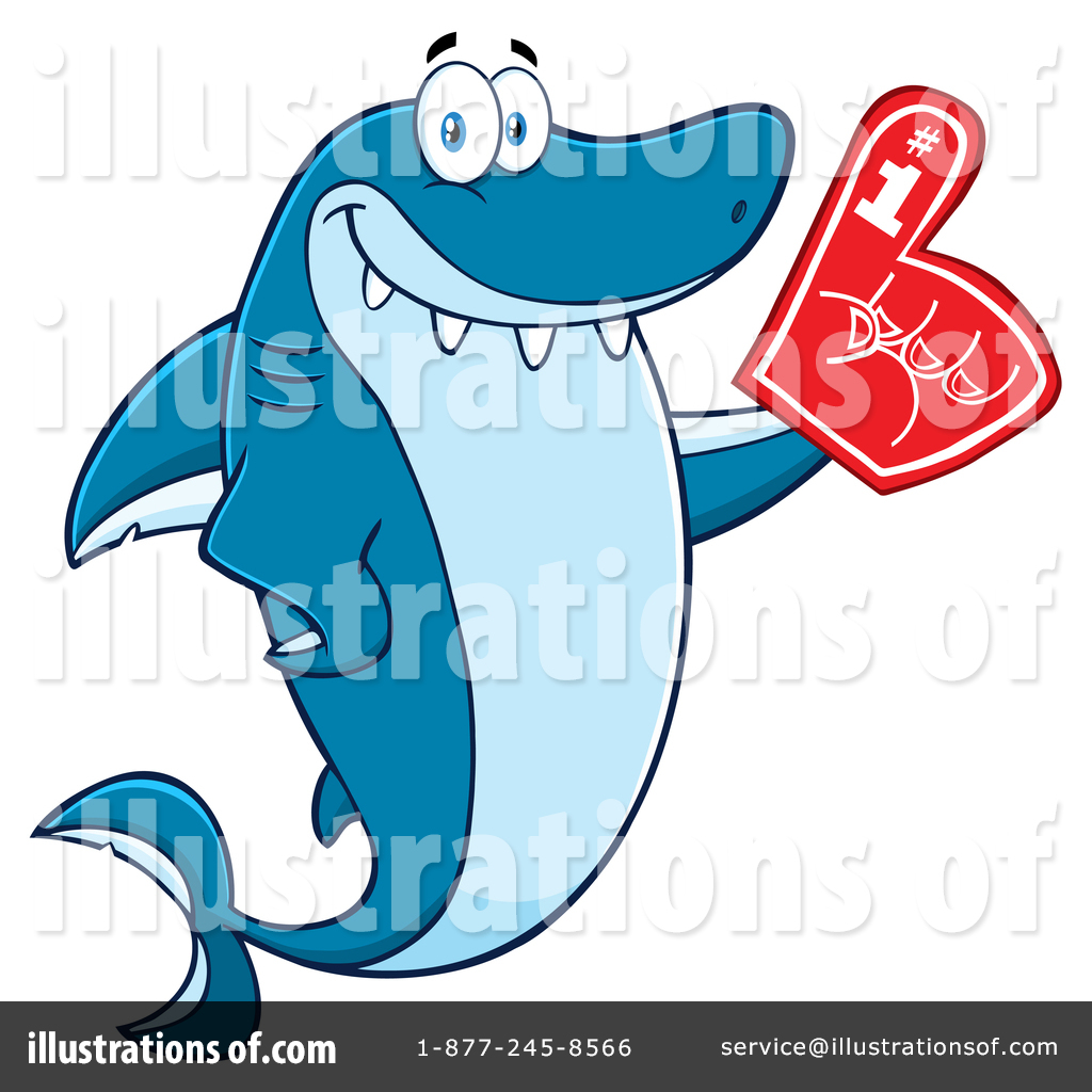 hight resolution of royalty free rf shark clipart illustration 1411863 by hit toon