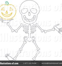 royalty free rf skeleton clipart illustration 1080152 by rosie piter [ 1024 x 1024 Pixel ]