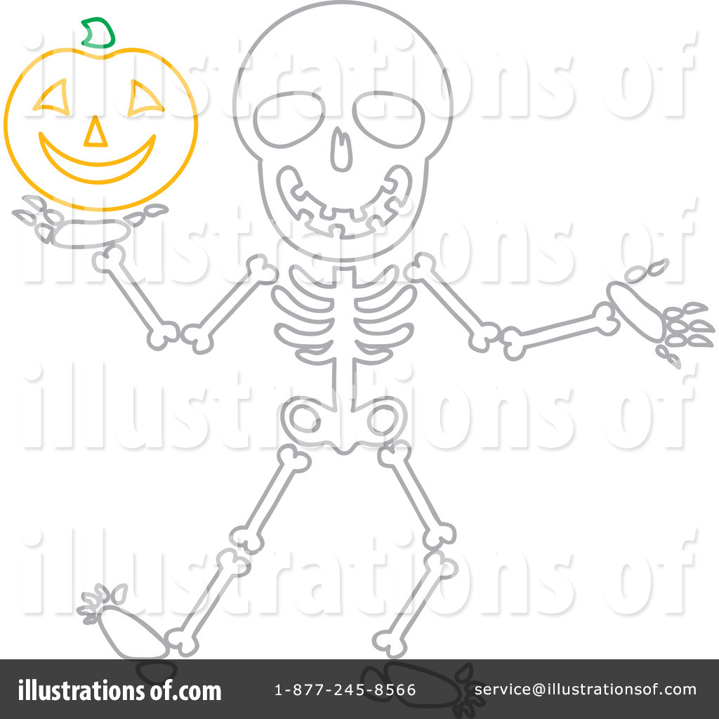 hight resolution of royalty free rf skeleton clipart illustration 1080152 by rosie piter