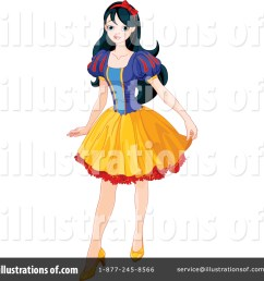 royalty free rf snow white clipart illustration 1389351 by pushkin [ 1024 x 1024 Pixel ]