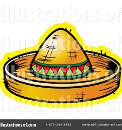 royalty free rf sombrero clipart illustration 438188 by cory thoman [ 1024 x 1024 Pixel ]