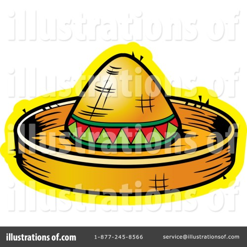 small resolution of royalty free rf sombrero clipart illustration 438188 by cory thoman