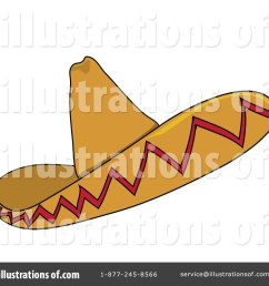 royalty free rf sombrero clipart illustration 62642 by pams clipart [ 1024 x 1024 Pixel ]
