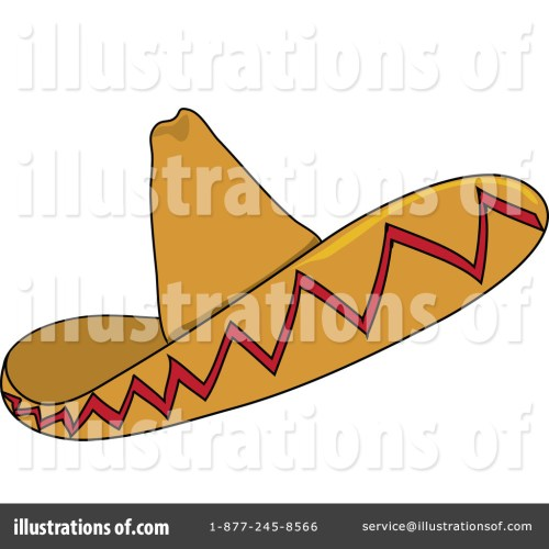 small resolution of royalty free rf sombrero clipart illustration 62642 by pams clipart