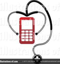 royalty free rf stethoscope clipart illustration 1470286 by lal perera [ 1024 x 1024 Pixel ]