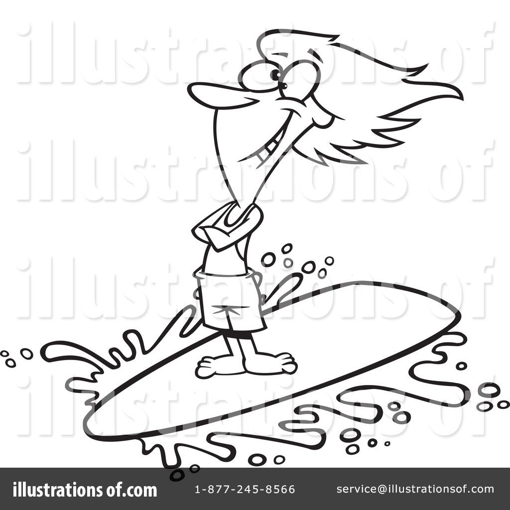 Surfer Clipart