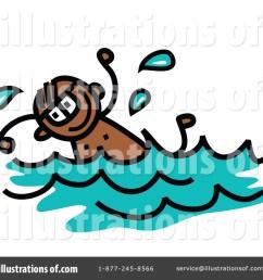 royalty free rf swimming clipart illustration 1352890 by prawny [ 1024 x 1024 Pixel ]