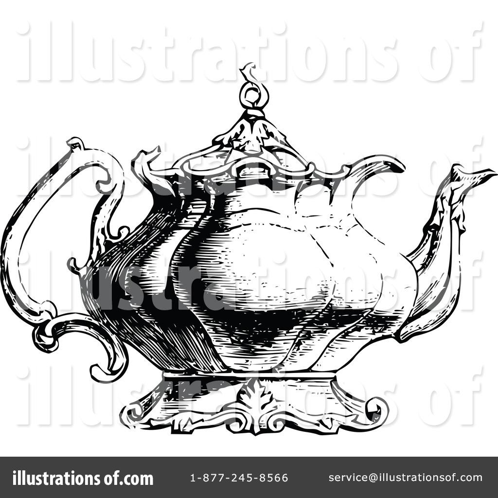 Vintage Teapot Clip Art Cliparts