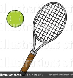 royalty free rf tennis clipart illustration 1397175 by hit toon [ 1024 x 1024 Pixel ]